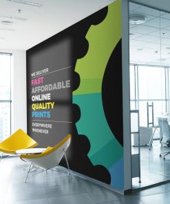 Internal Office Wall branding