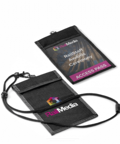 Bliss Conference Pouch & Lanyard