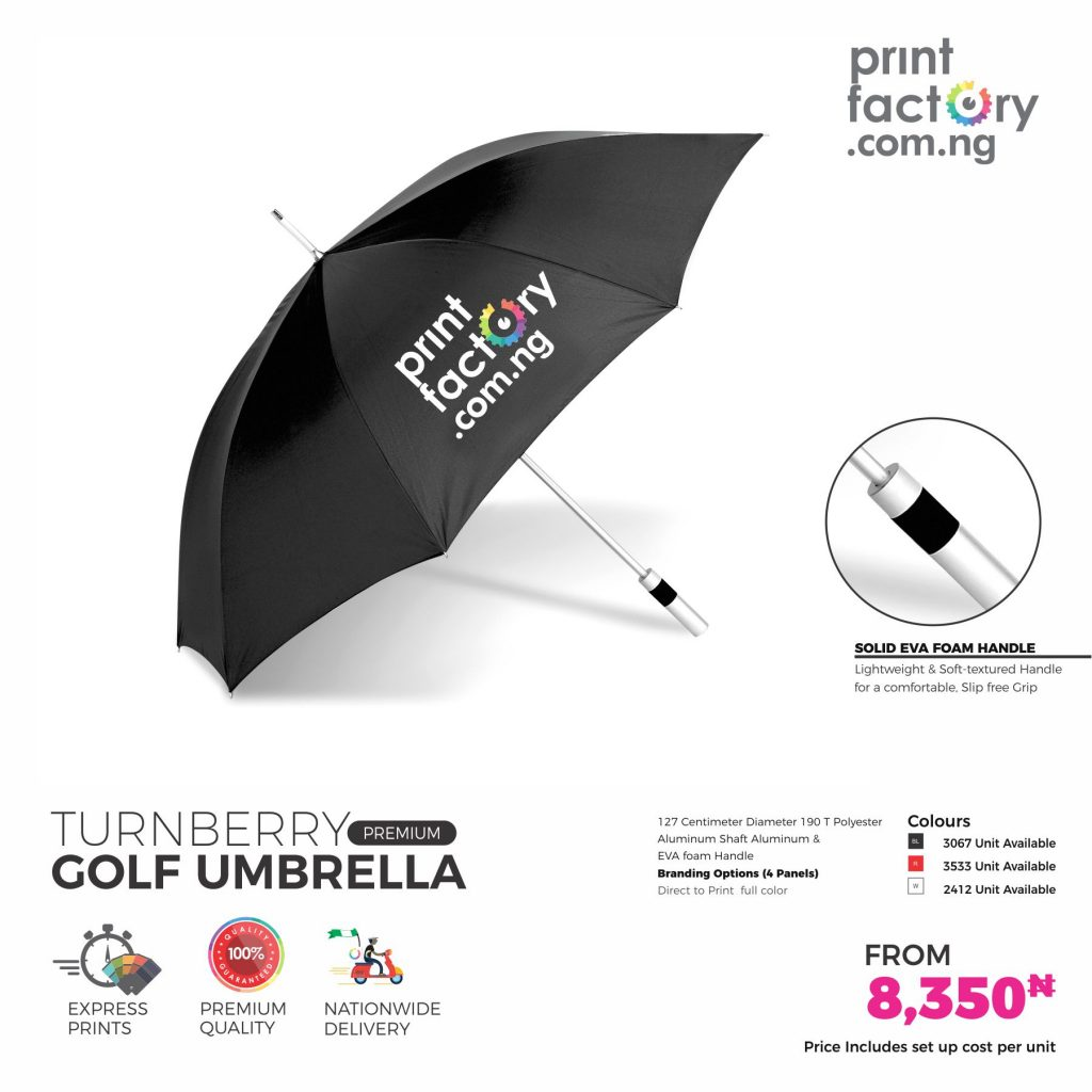 Turnberry Golf Umbrella