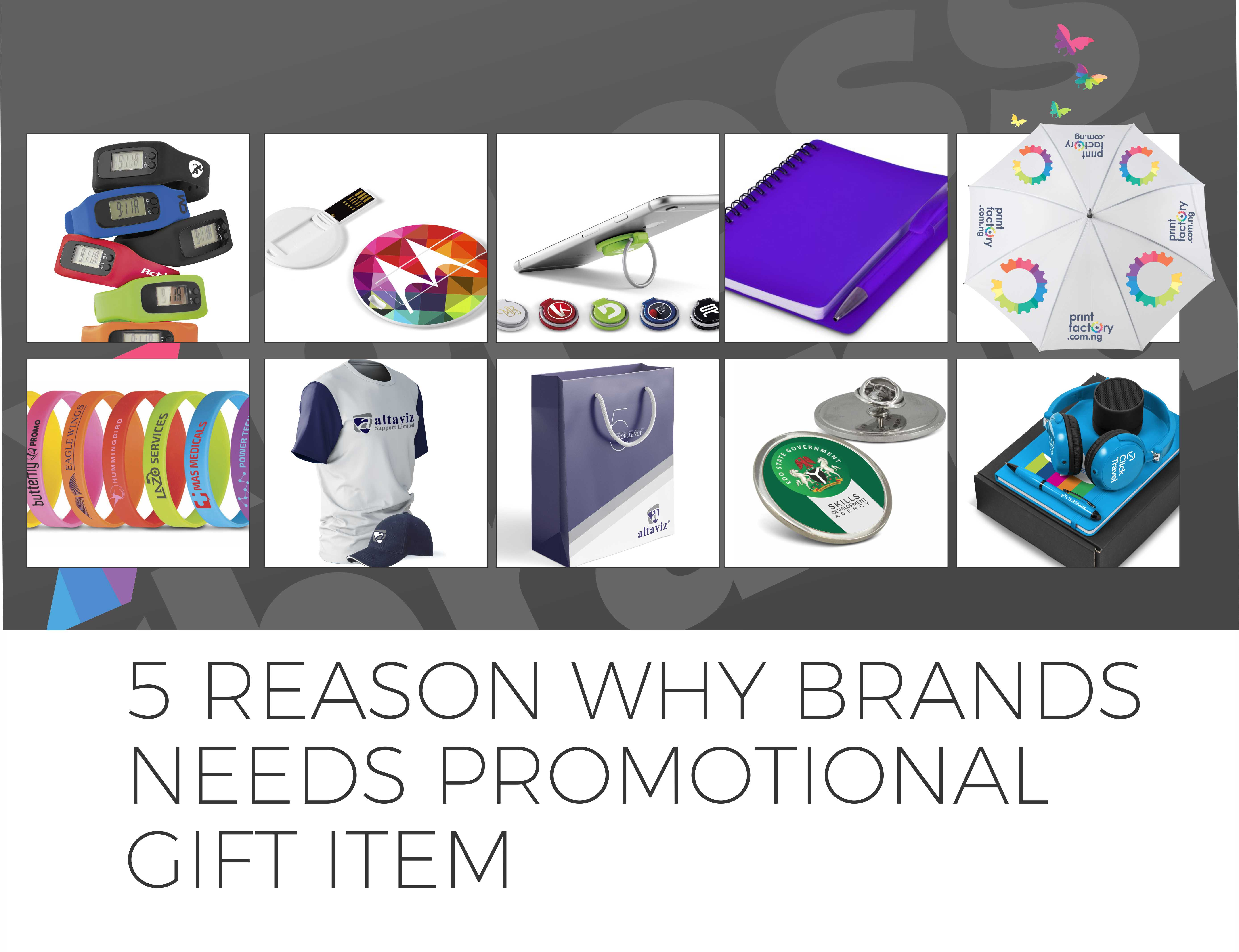 Branded gifts