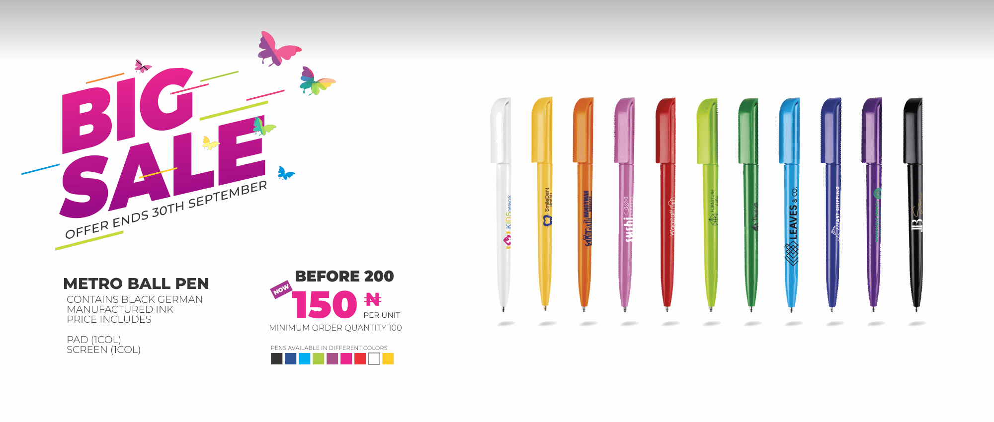 big sale Promo - Pen